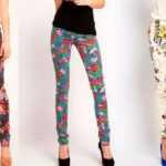 C чем носить штаны с цветочным принтом