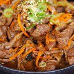 Азу с солеными огурцами – четыре рецепта