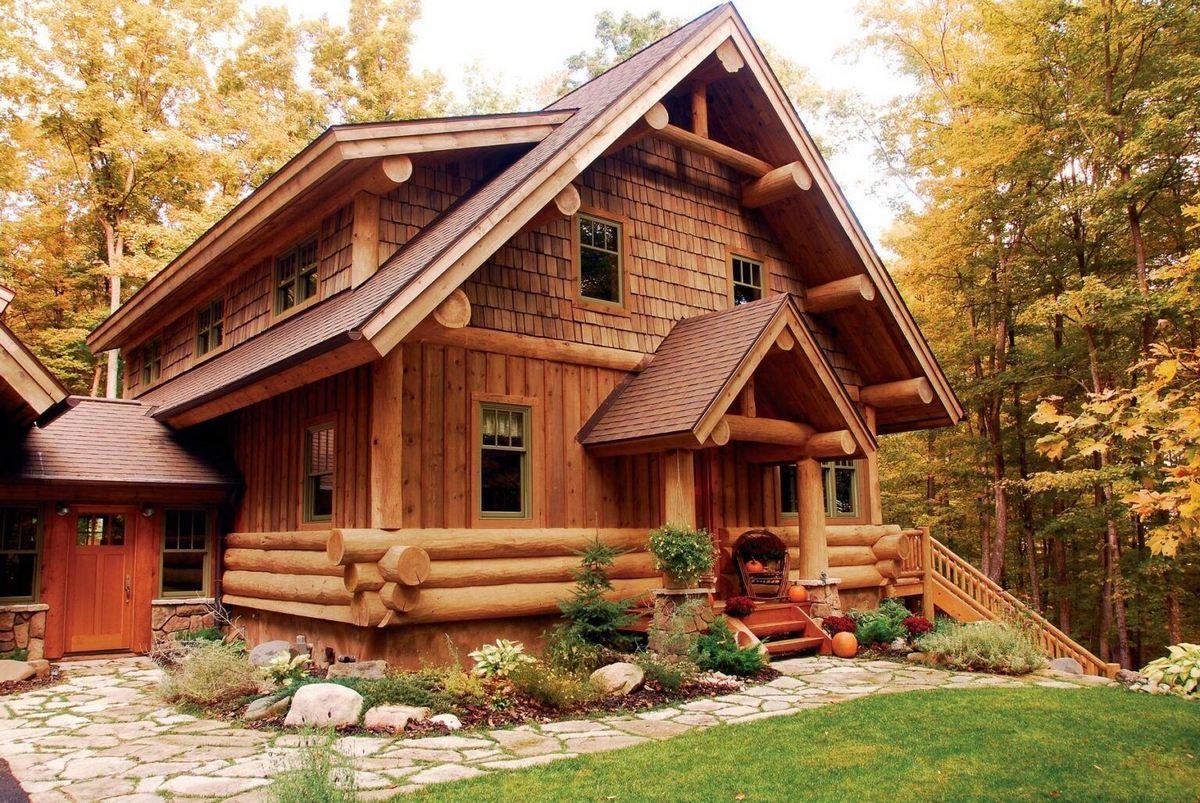 Деревянные дома. История, традиции и особенности